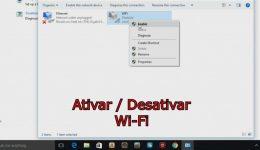 Como ativar / Desativar o Wifi do seu computador no Windows 10
