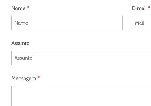 Como criar e enviar formulário pelo site WordPress