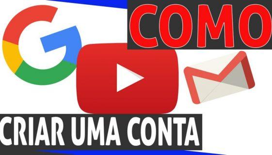 Aula 01:Como criar uma conta de e-mail e usar o youtube – gmail, o início #74