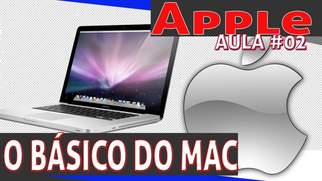Aula 02 do básico do MAc da Apple