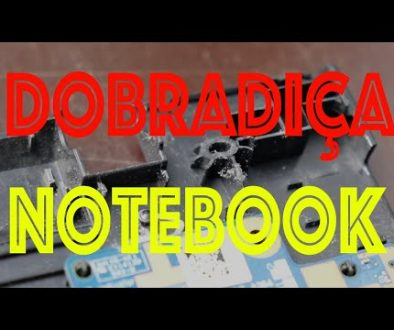 Dobradiça do notebook com problemas? Veja este post