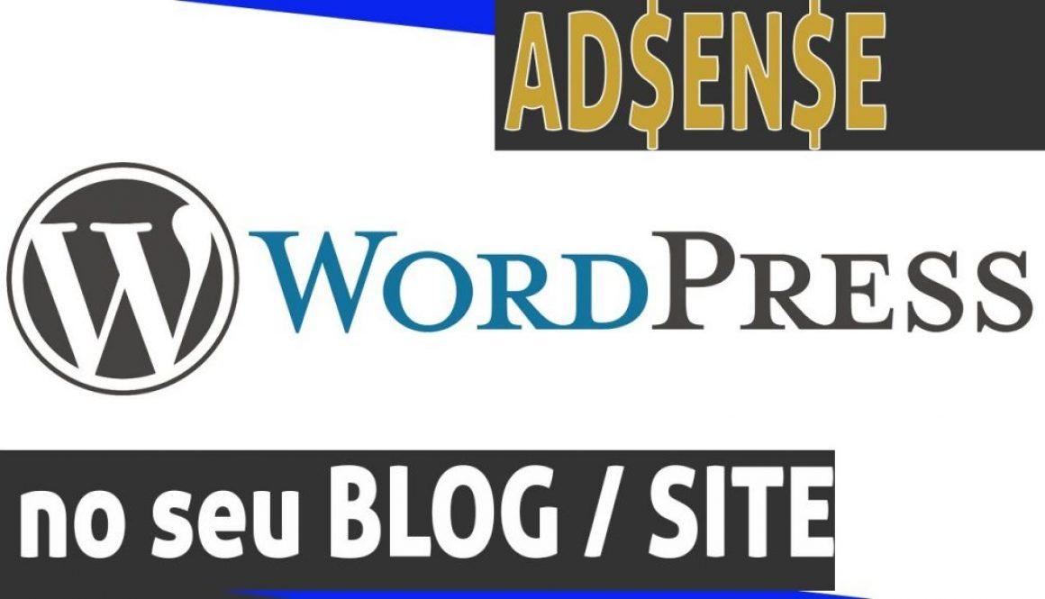 Como colocar Adsense num site ou blog WordPress
