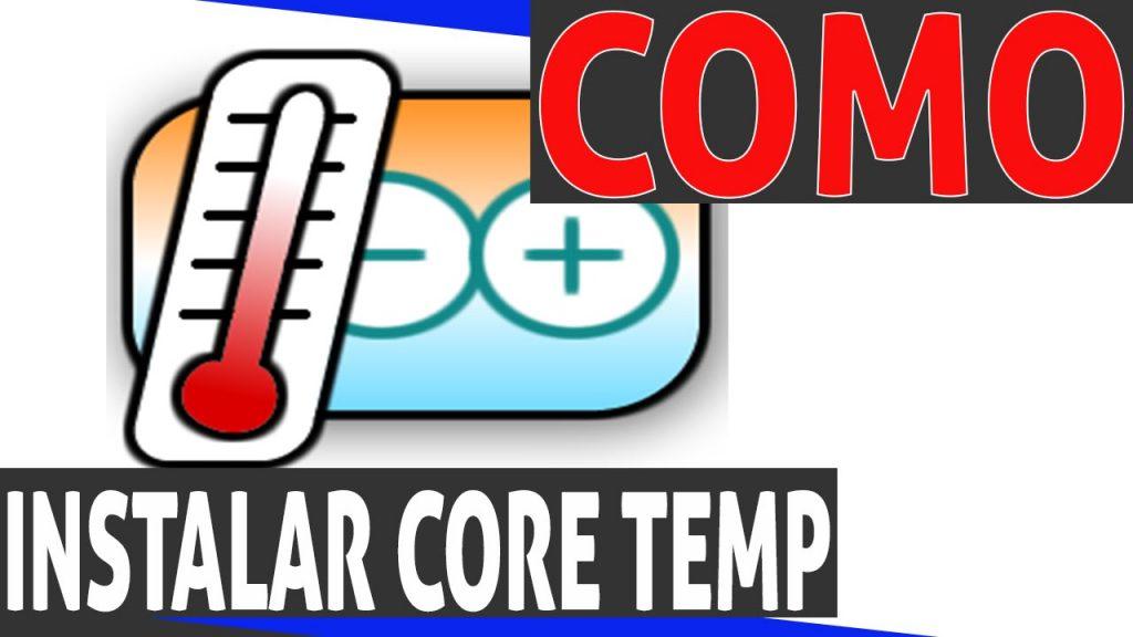 como instalar core temp?