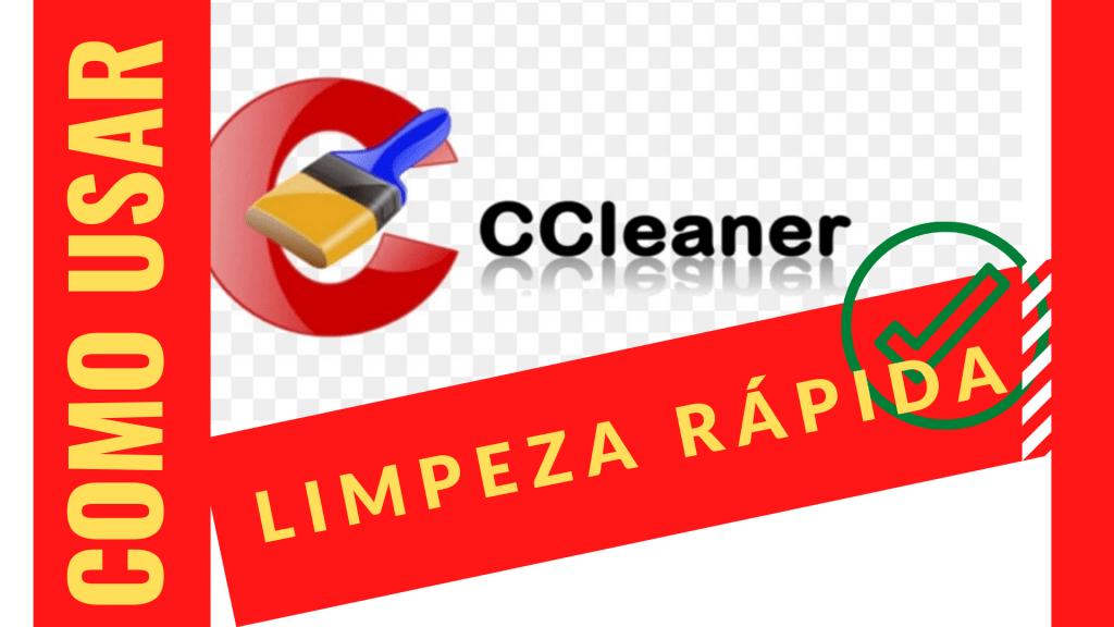 Ccleaner e limpeza de disco