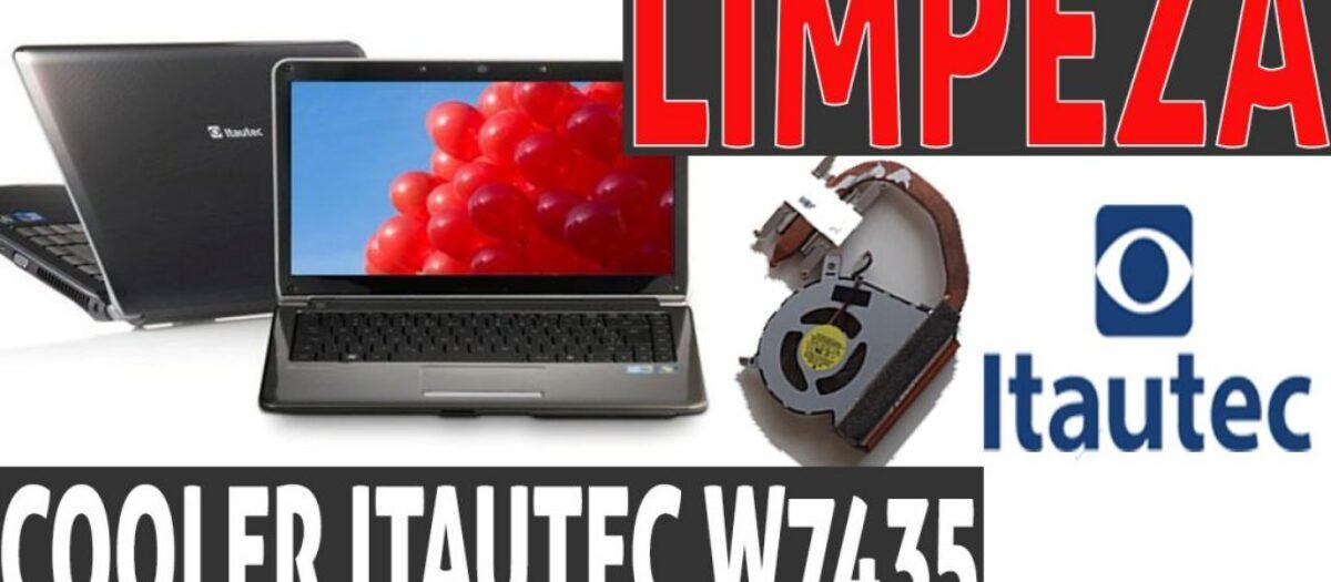 Como limpar o ventilador do notebook W7435 Itautec