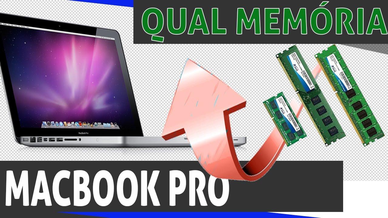 Qual memória usar no macbook?
